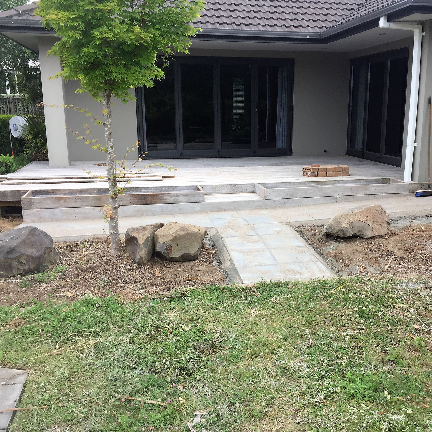 paving and garden construction