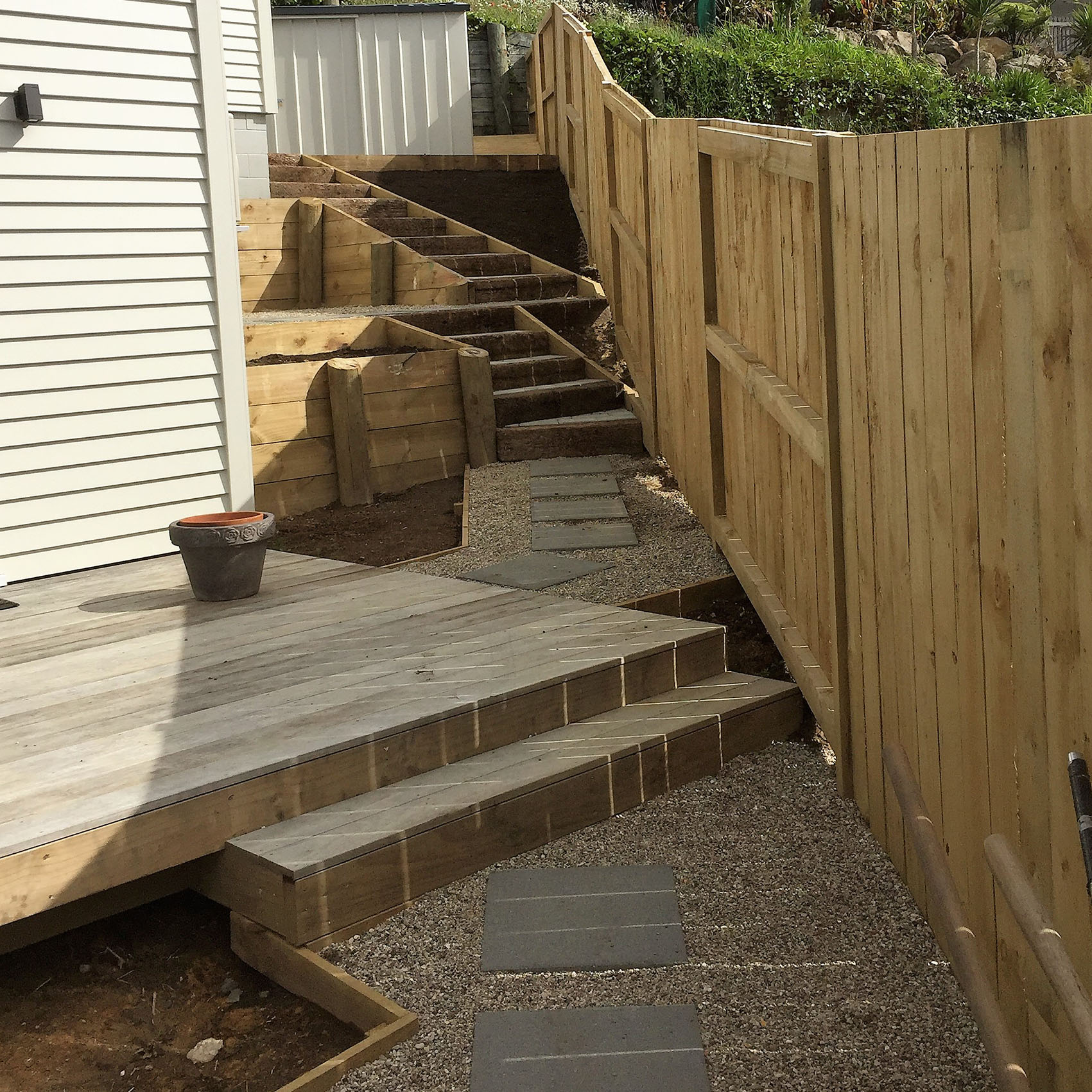Decking and Stair Construction